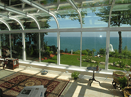 Curved Eave Solariums In Va Md Wv Sunroom Designs In