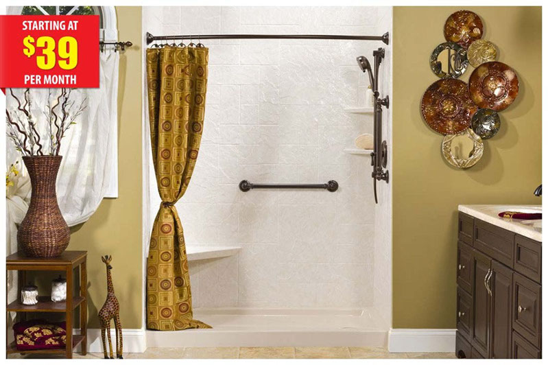 Bathroom Remodeling Winchester Va walk-in showers in va, md, wv | shower replacement