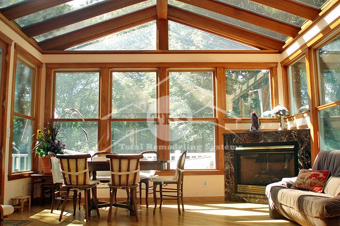 What is a four season room sunroom installation in dc for Four season porch plans