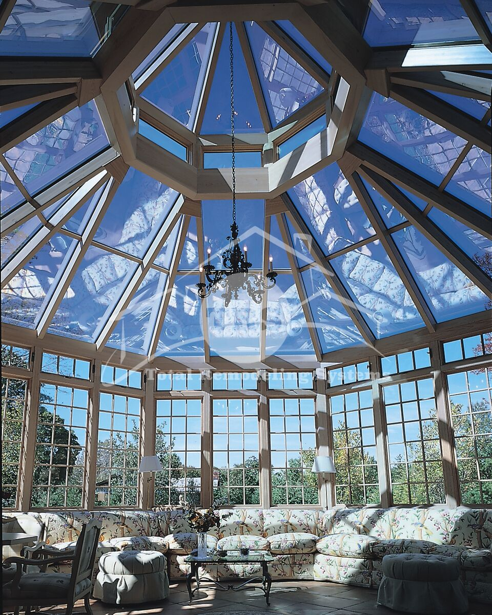 Lantern Style Roof Sunroom Total Remodeling Systems